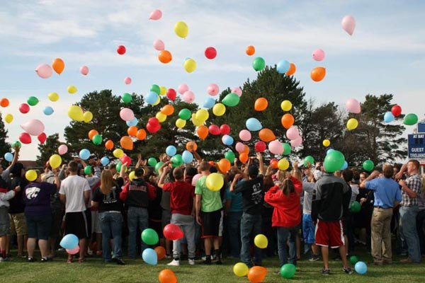 Orientation balloon activity