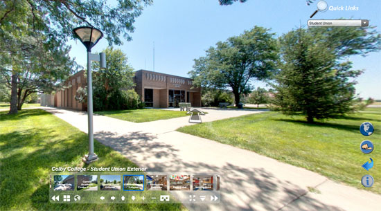 Virtual Tour Front Page