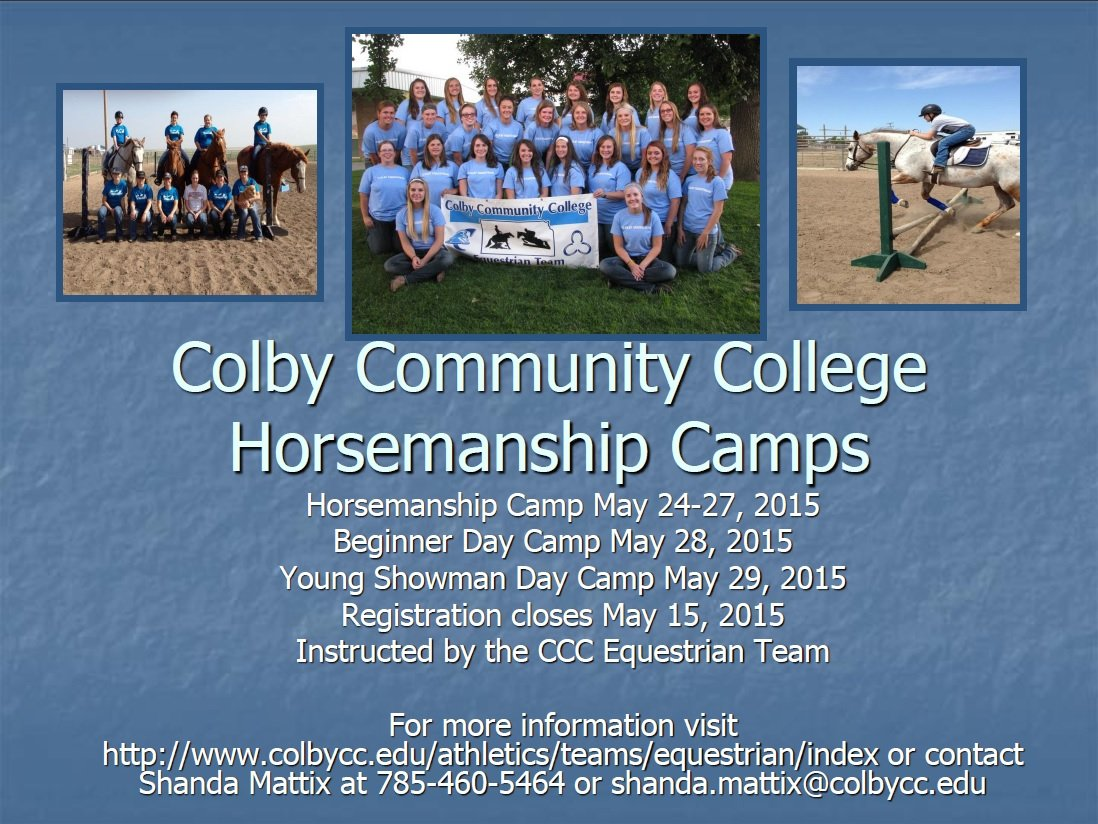 2015 Horsemanship Camp Flyer