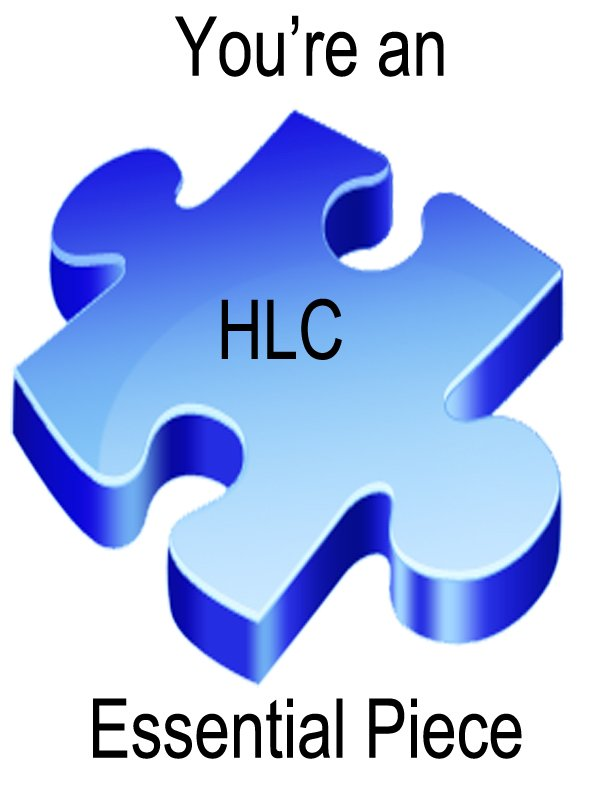 HLC - You're an essential piece!