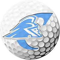 Golf ball with the Trojans logo