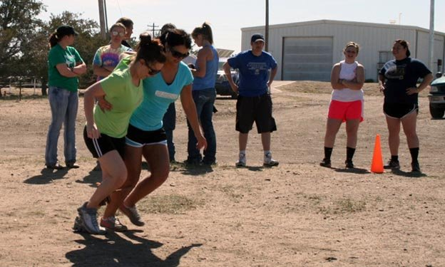 Ag Olympics - 3-Legged Race