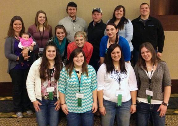 Ag Students at Conference
